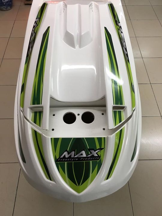 Maxx freestyle hull